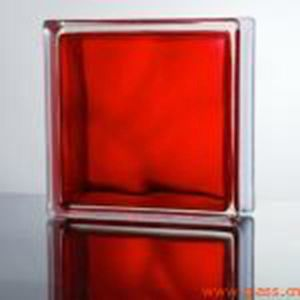 Red Color Glass Blcok for The Wall pictures & photos