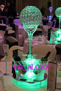 Banquet Acrylic LED Lighted Table Decorative Centerpiece (NR_ALC004)