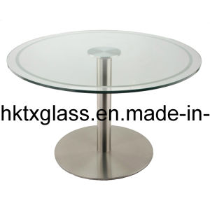 Round Glass Top / Carved Glass Top pictures & photos