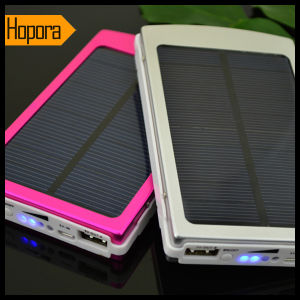 Portable 10000mAh Solar Travel Move Emergency Battery Charger pictures & photos