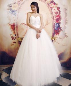 Ball Gown Sweetheart Floor-Length Wedding Dress (Ogt2013)