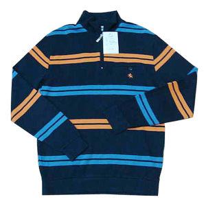 Man′s Long Sleeve French Rib Feshion Polo (JY01)