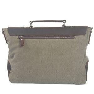 Leather Canvas Messenger Handbag (RS-8896-1) pictures & photos