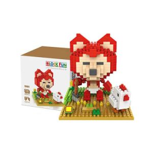 6739491- Mini Ali The Fox Diamond Building Block 350PCS Educational Toy pictures & photos