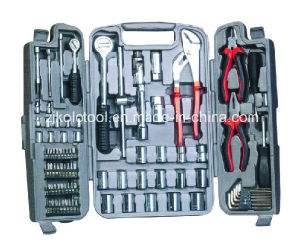 90PC Professional Automative Hand Repair Tool Set with Ratchet Handle pictures & photos