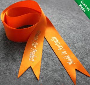 Custom Printing Satin Ribbon (AC-015) pictures & photos