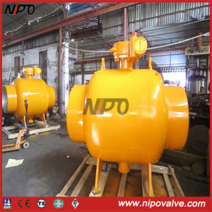 API 6D Forged Steel Fully Welded Trunnion Ball Valve pictures & photos