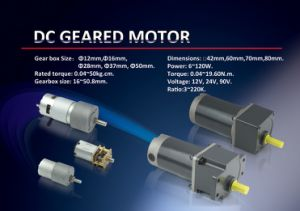 DC Gear Motor for Toys pictures & photos