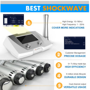 Gainswave Shockwave Therapy Equipment for Stretch Mark pictures & photos