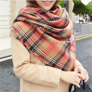 New Women Fashion Soft Cashmere Scarf Wrap Shawl Scarves pictures & photos