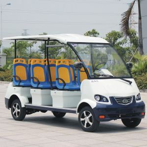 CE Approve Electric 8 Seater Sightseeing Bus for Tourist (DN-8) pictures & photos