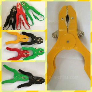 20A Copper Clip PVC Boot Battery Clip/Alligator Clip Rj-Y1074) pictures & photos