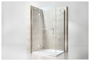 Simple Style Square Hinge Shower Enclosure