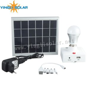 Portable Solar Lamp for Indoor pictures & photos