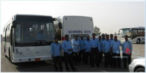 11-12m Labour Bus, Right Hand Drive Available, Not Tata/Ashok Layland pictures & photos