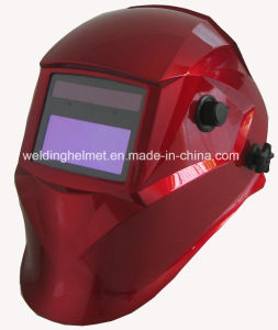 Shiny Red Autodarkening Welding Mask (P1190TC) pictures & photos