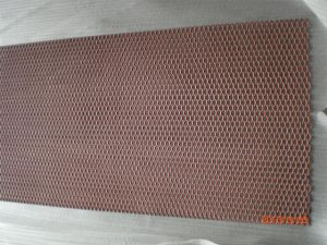 Tec-Sieve Standard Raised Anodized Expanded Aluminium Mesh in Red and Orange pictures & photos