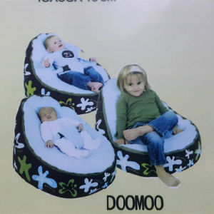 420d Polyester Oxford and Micro Mink Baby Beanbag Cover pictures & photos