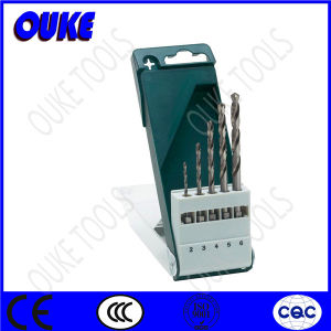 5-Piece Fully Ground HSS Cobalt Drill Bits Set, 2-6mm pictures & photos