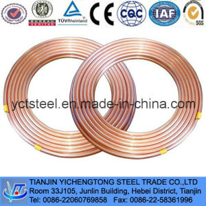 Pancake Coil Copper Pipes-Air Conditioner Coil Copper Tubes pictures & photos