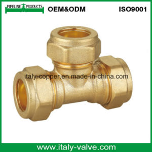 15mm CE Certified Brass Forged Compression Equal Tee (AV7013) pictures & photos
