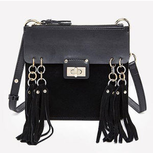 Shoulder Bags Genuine Leather Handbags Tassel Fashion Ladies′ Bags Emg4695 pictures & photos