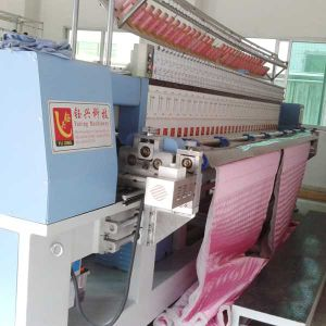 Computerized Embroidery and Quilting Machine for Making Handbags, Shoes, Garments pictures & photos