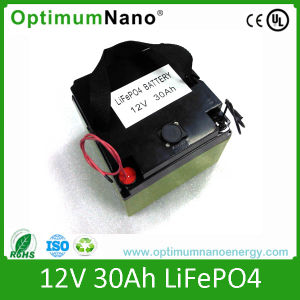 High Power Battery 12V 30ah Back with PCM pictures & photos