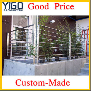 Stainless Steel Handrail Outdoor Balcony Balustrade Yg-B40