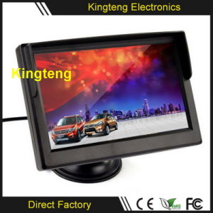 Vehicle Automobile LCD Screen HD Standing 4.3 Inch TFT Auto Reverse Backup Car Monitor
