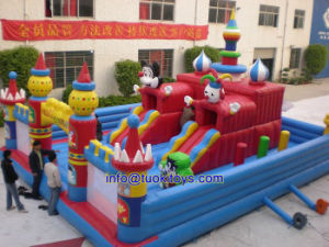 Commercial Inflatable Moon Bounce with Certificate for Sale (B041) pictures & photos