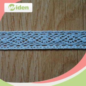 Blue Decorative Lace Trim Crochet Fabric Lace pictures & photos