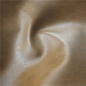 Anti-UV Synthetic PU Leather for Home Textile, Car Seat (CPU005#) pictures & photos