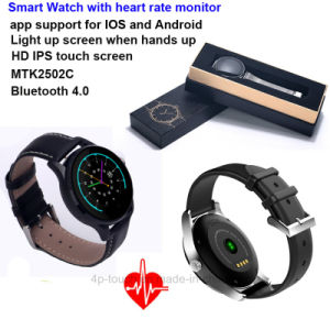 Fashionable Bluetooth Smart Watch with Heart Rate Monitor (K88H) pictures & photos