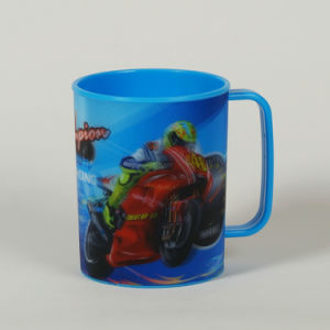 Standard 3D Effect Lenticular PP Water Cup pictures & photos