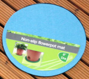 Non Slip Flowerpot Mat pictures & photos