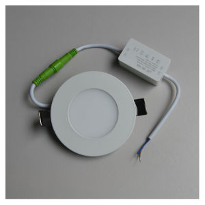 1.7USD 3W 120mm Ultrathin Round Cool White LED Panel Light