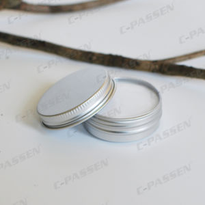 100g Aluminum Cosmetic Cream Jar with Scew Lid pictures & photos
