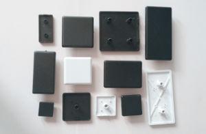 30 Aluminum Profile ABS Plastic End Cap Cover pictures & photos