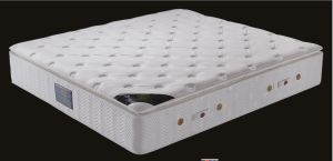 Super Design Very Comfortable Pillow Top Latex Pocket/Box Spring Mattress pictures & photos