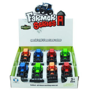 Simulation Plastic Model Farmer Car Pull Back Car with En71 (10227709) pictures & photos