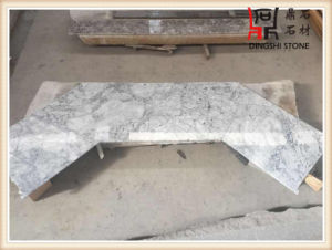 White Grey Prague White Marble Slabs for Flooring Mosaic Countertop pictures & photos