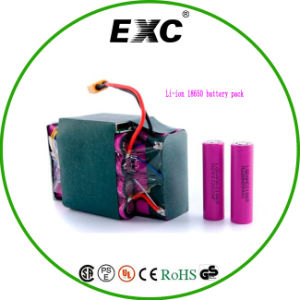 Lithium Polymer Battery Bag 36V Pack 18650 Series and Parallel pictures & photos