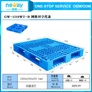 Suzhou Manufacturer of Cheap Plastic Pallet pictures & photos