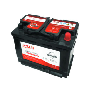 12V Maintenance Free AGM Start-Stop Battery for Cars/Trucks pictures & photos