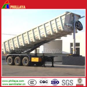Hydraulic U Type Semi Dump Trailer / Dumper Truck / Tipper pictures & photos