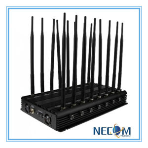 42W 16antennas High Power Desktop 3G 4G Cell Phone Bluetooth Jammer, High Power Desktop WiFi Bluetooth 4G Mobile Phone Signal Jammer pictures & photos
