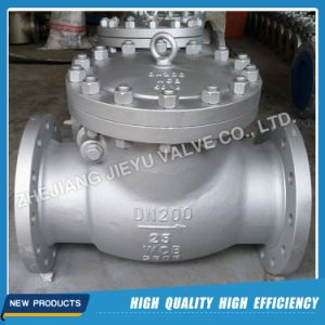 Pn25 Wcb/Gp240gh RF DIN Flange Swing Check Valve pictures & photos