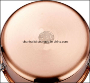 Tri Ply Body Copper Clad Cookware Set pictures & photos