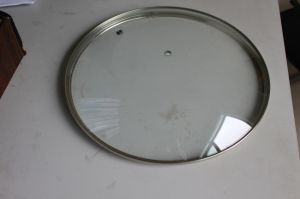 High Dome G-Type Tempered Glass Lid pictures & photos